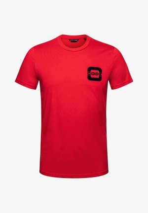 SALTWATER - Print T-shirt - red