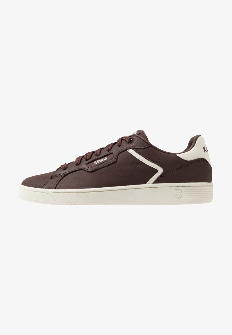K-SWISS - CLEAN COURT - Trainers - french roast/egret