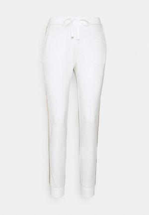 PANT - Kalhoty - bianco/silver