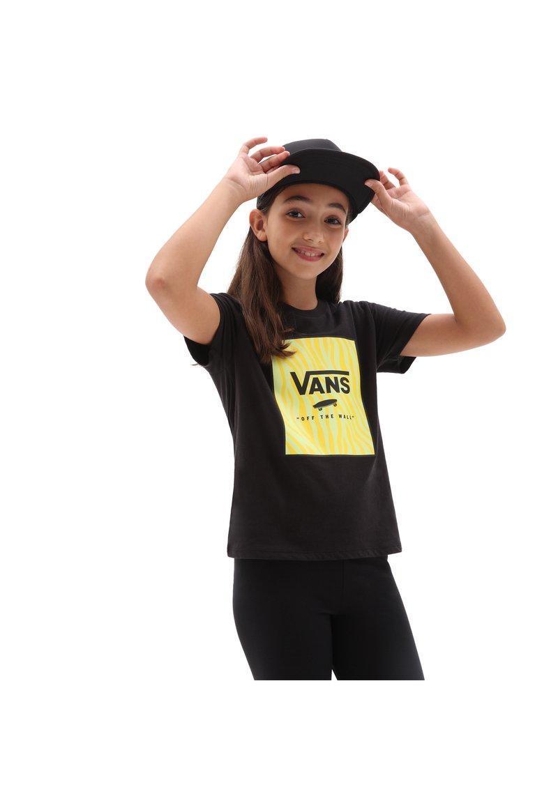 Vans - GR ZOO BOX SS - Print T-shirt - black