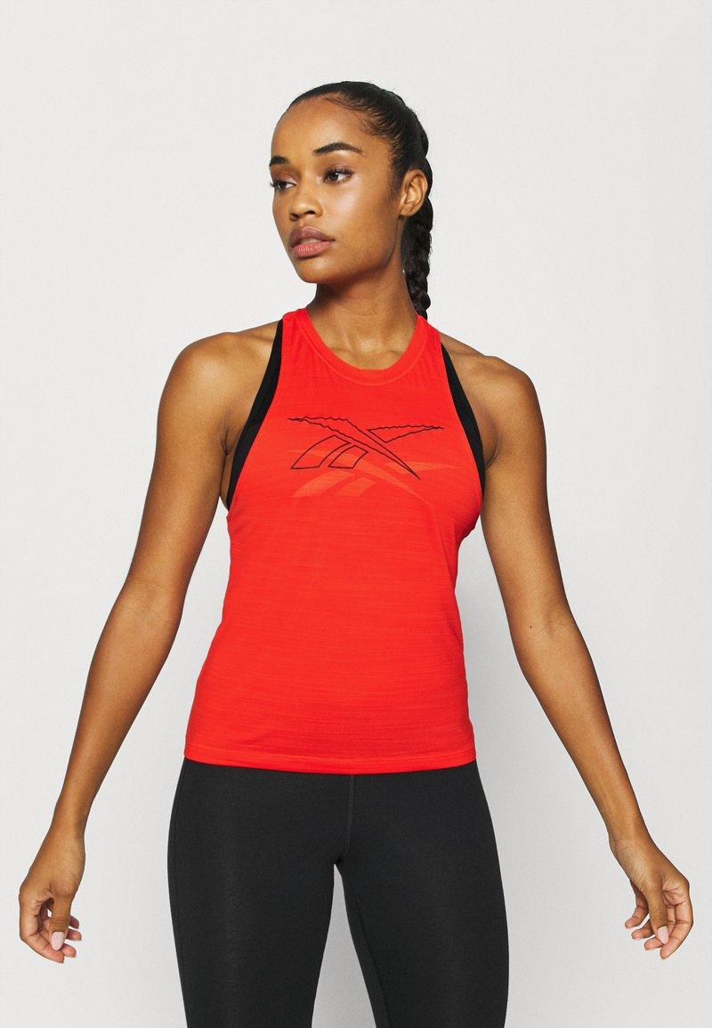Reebok - TANK - Camiseta de deporte - red