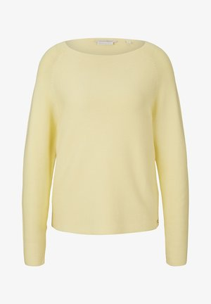 Jersey de punto - soft yellow