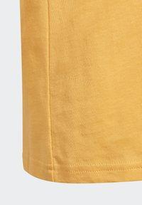 adidas Originals - OUTLINE TREFOIL UNISEX - Print T-shirt - hazy orange - 3