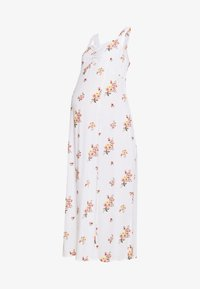 Dorothy Perkins Maternity - CAMI FLORAL CRINKLE DRESS - Maxi dress - ivory - 4