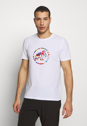 NATIONS MEN - T-shirt med print - bright white