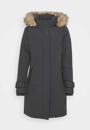 COAT SLEEVE - Down coat - slate