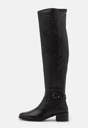 TESLEY - Over-the-knee boots - black