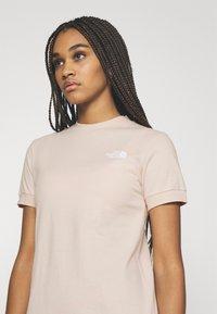 The North Face - TEE DRESS - Jersey dress - pink tint - 3