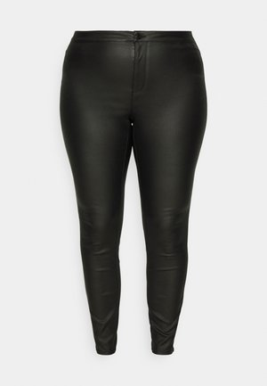 VMJOY SKINNY PANT MIX - Bukse - black