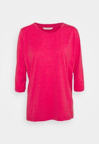 WOMENS SKOMER 3/4 - Langarmshirt - crimson red