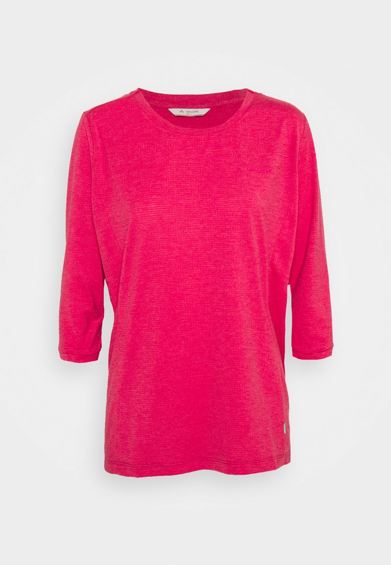 Vaude - WOMENS SKOMER 3/4 - Langærmede T-shirts - crimson red