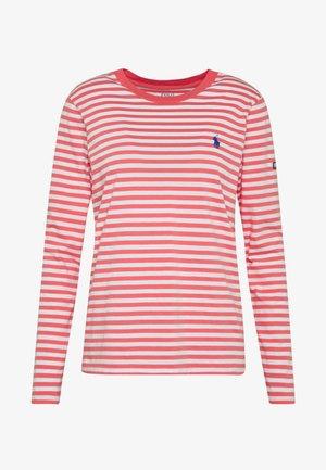 Pitkähihainen paita - amalfi red/white