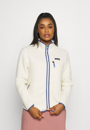 RETRO PILE - Fleece jacket - natural