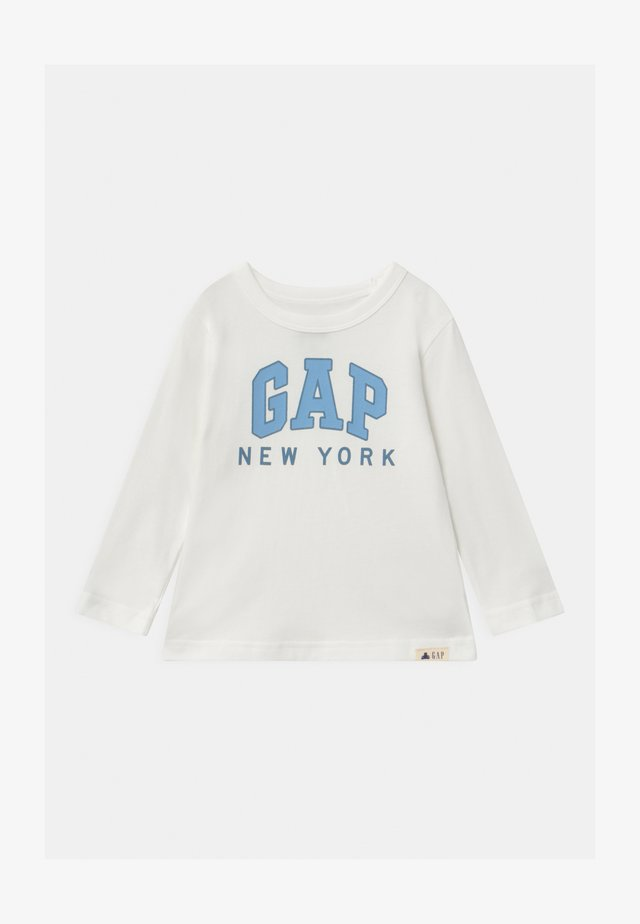 TODDLER BOY CITY - Camiseta de manga larga - new off-white