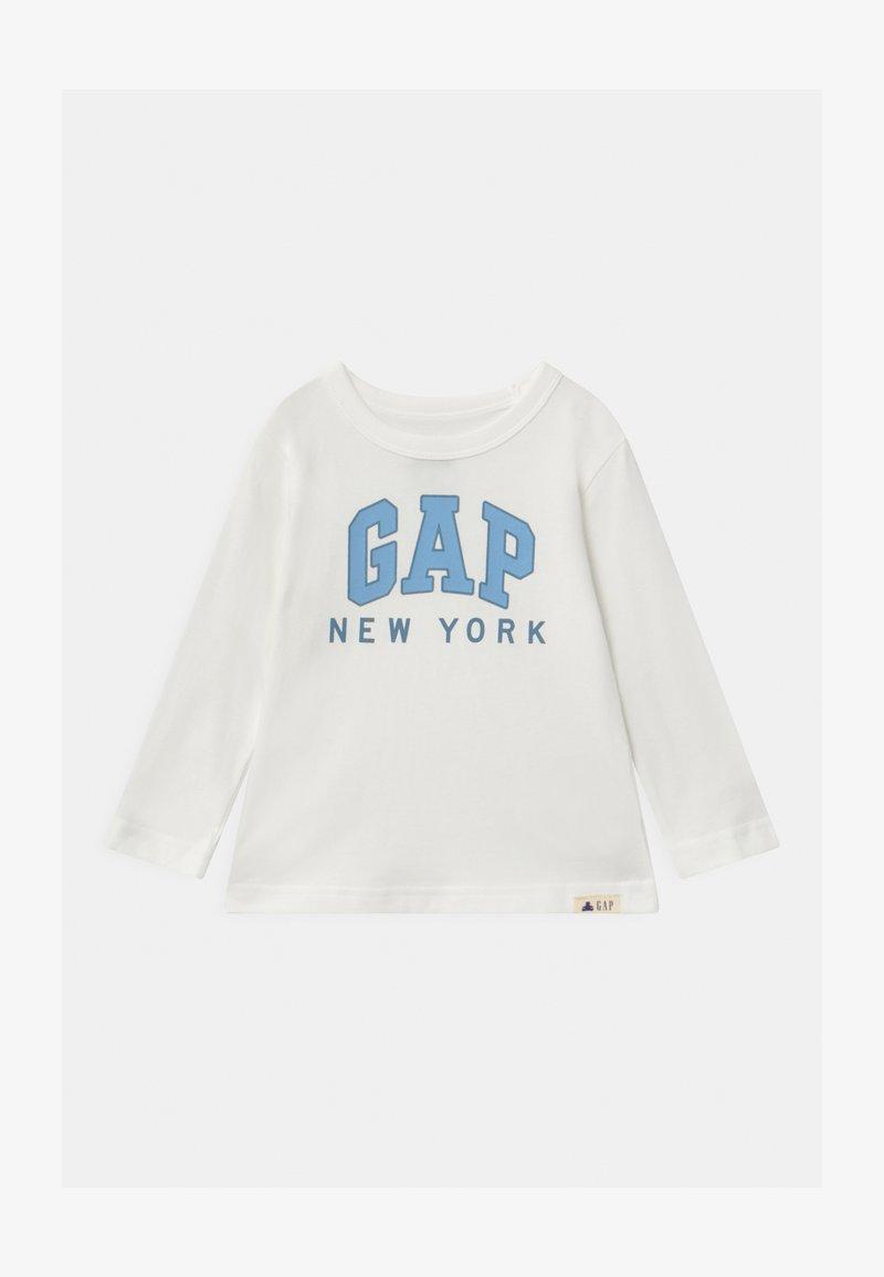 GAP - TODDLER BOY CITY - Maglietta a manica lunga - new off-white