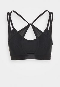 THE CROP - Light support sports bra - black