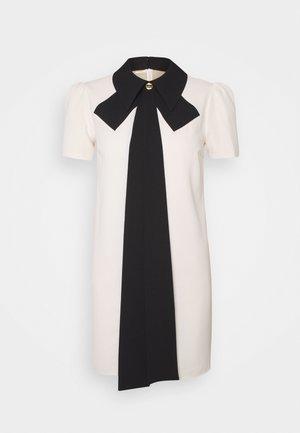 WOMEN'S DRESS - Shirt dress - burro/nero