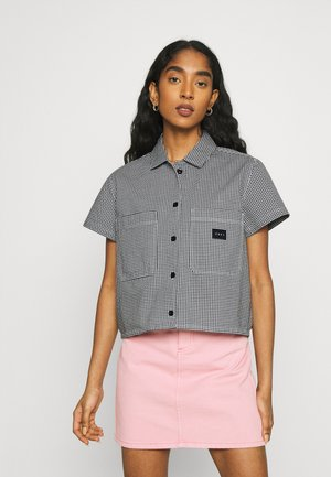 CREEPER - Button-down blouse - black/white