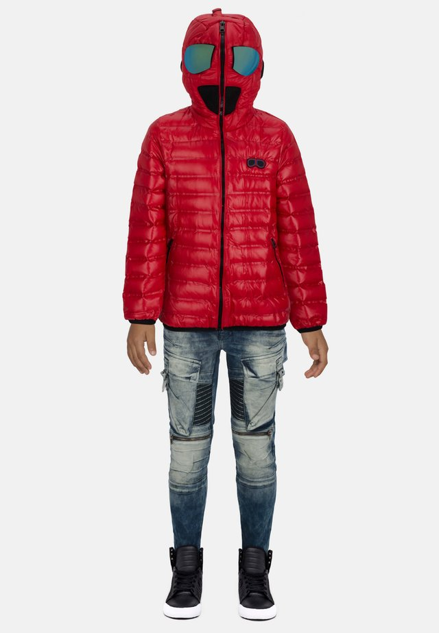 ADVENTURE - Down jacket - red