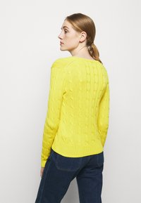 Polo Ralph Lauren - CLASSIC - Svetr - elite yellow - 2