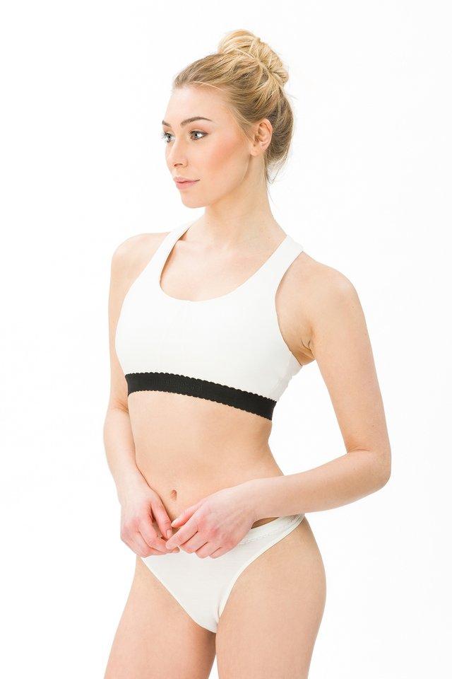 TARA BRA - Sports bra - white