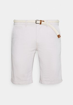 WITH BELT - Short - beige twill