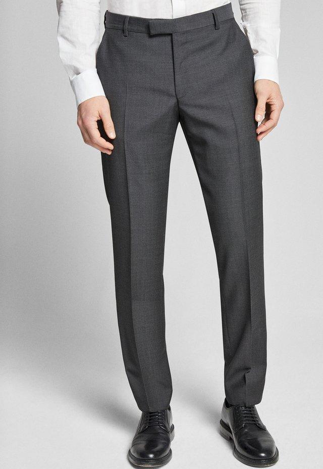 BRAD - Suit trousers - anthrazit