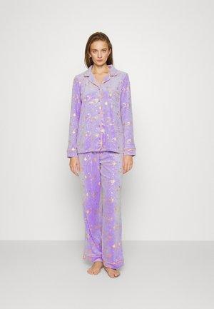 CELESTIAL BUTTON UP SET - Pyjama - purple