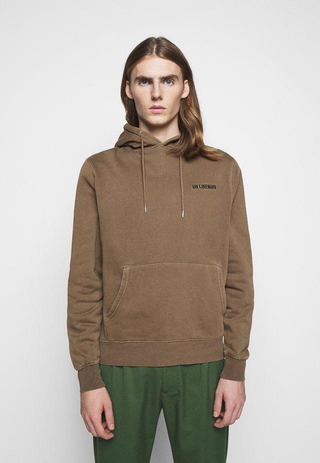 CASUAL HOODIE - Hoodie - brown