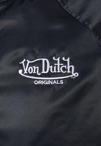 Von Dutch - AVIS - Bomber bunda - black beauty - 7
