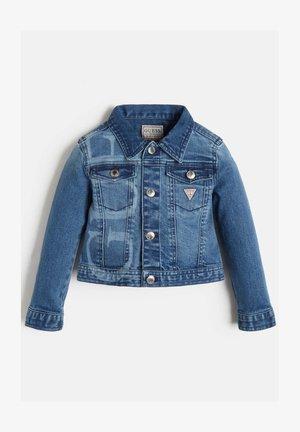 FRONTLOGO - Denim jacket - blau
