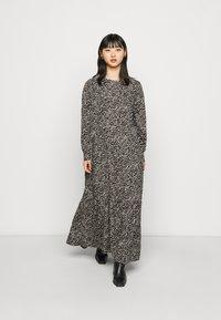 Noisy May Petite - NMRITA DRESS  - Denní šaty - black - 0