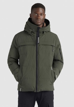 TERRY - Winter jacket - dunkelgrün