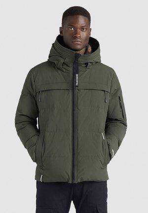 TERRY - Winterjas - dunkelgrün