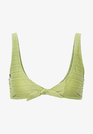 TAHITI TIE TANK - Bikini top - aloe