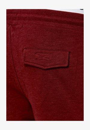 BENDNER - Cargo trousers - bordeaux mix