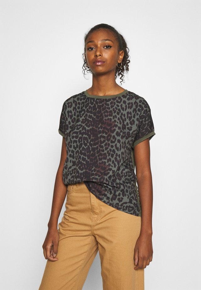 PANYA LEO - Blouse - olive night