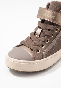Geox - KALISPERA GIRL - High-top trainers - smoke grey - 2