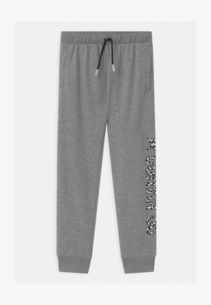 LOGO - Tracksuit bottoms - dark grey heather