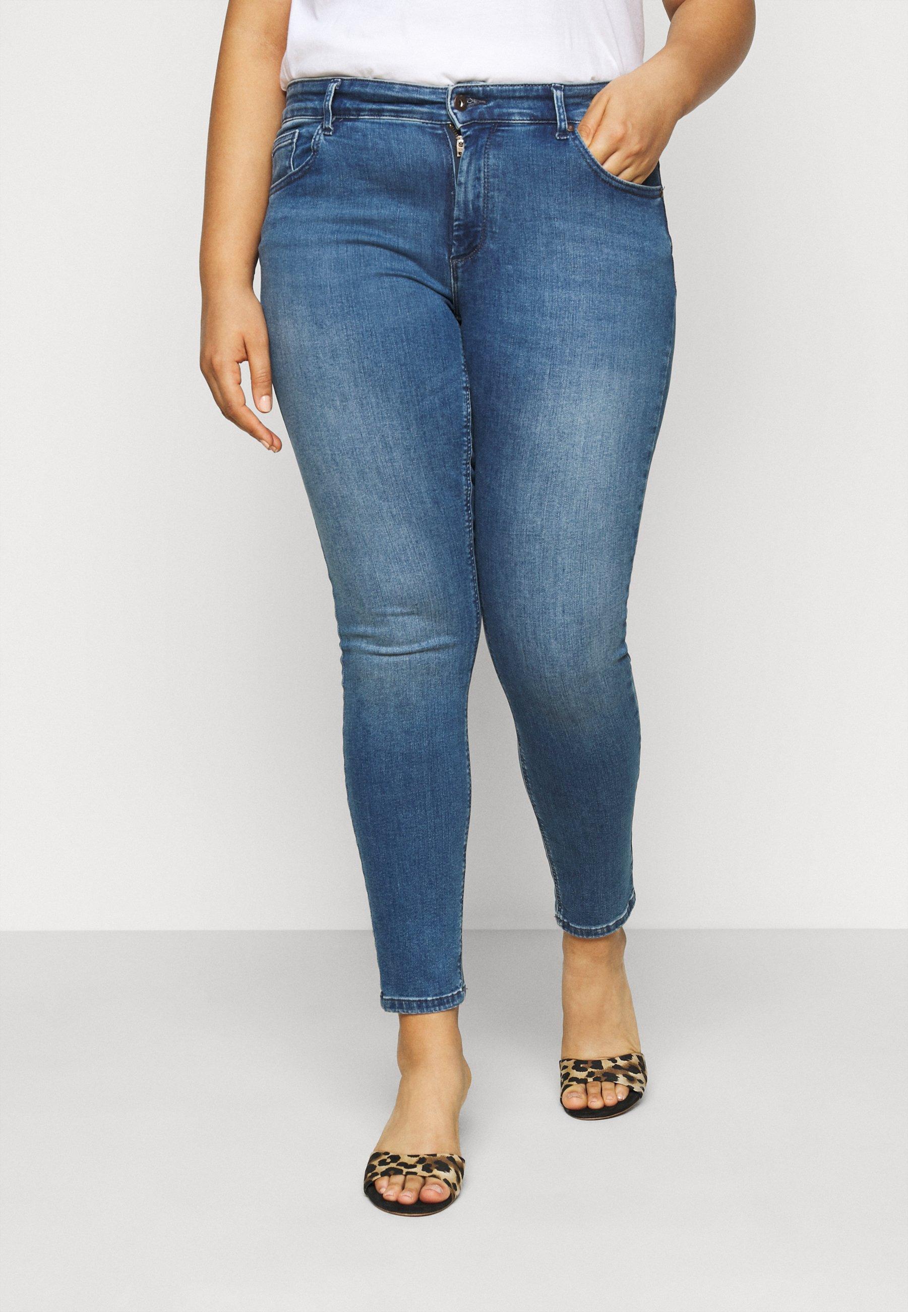 Damen CARWILMA LIFE REGULAR - Jeans Skinny Fit