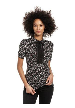 Polo shirt - schwarz allover