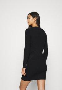 Even&Odd - JUMPER DRESS - Etuikjole - black - 2