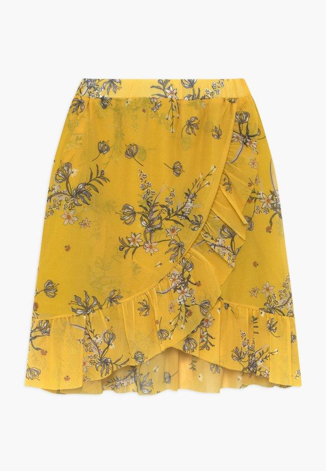 PADDIE - Spódnica trapezowa - yellow