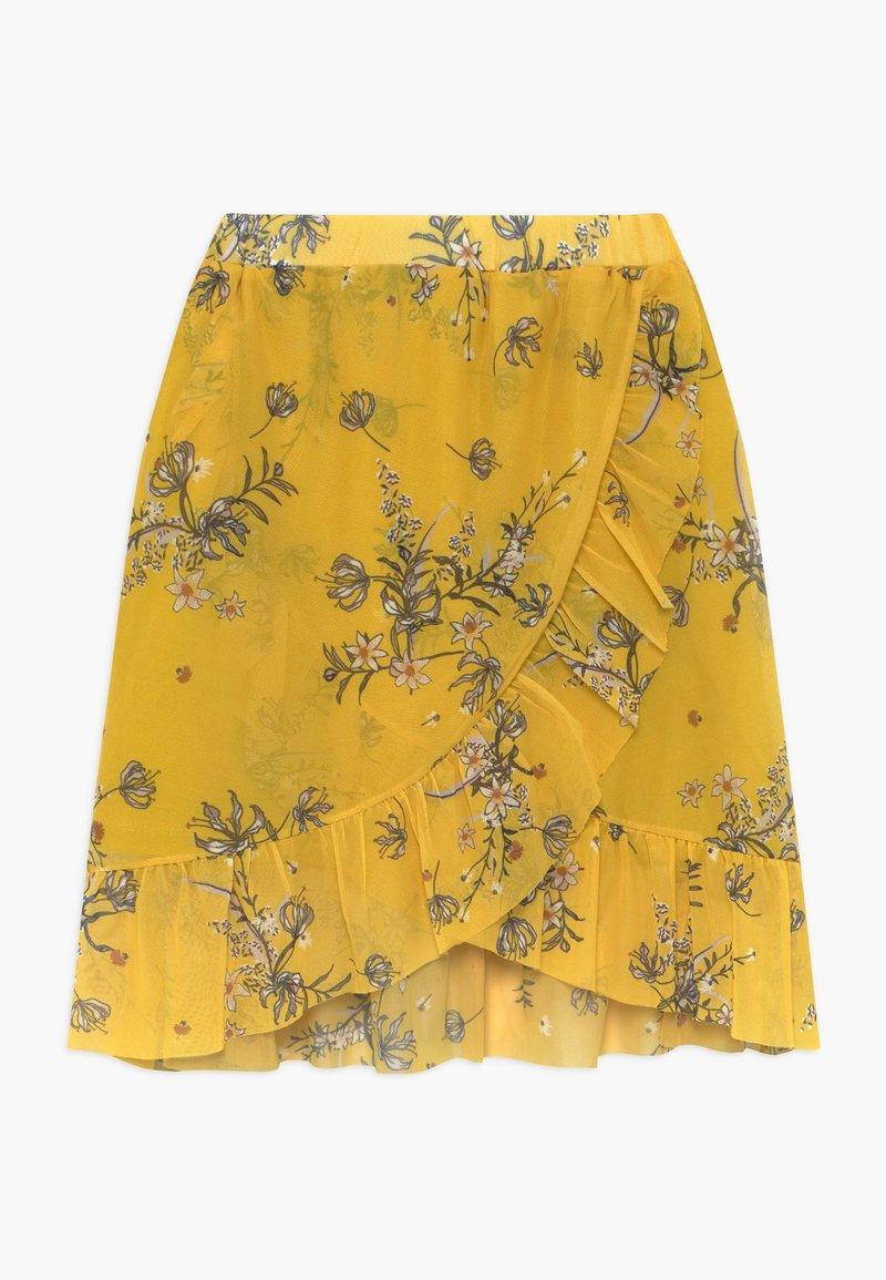 The New - PADDIE - Jupe trapèze - yellow