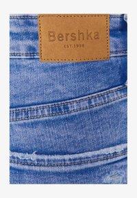 Bershka - SUPER HIGH WAIST - Jeans Skinny Fit - blue - 4