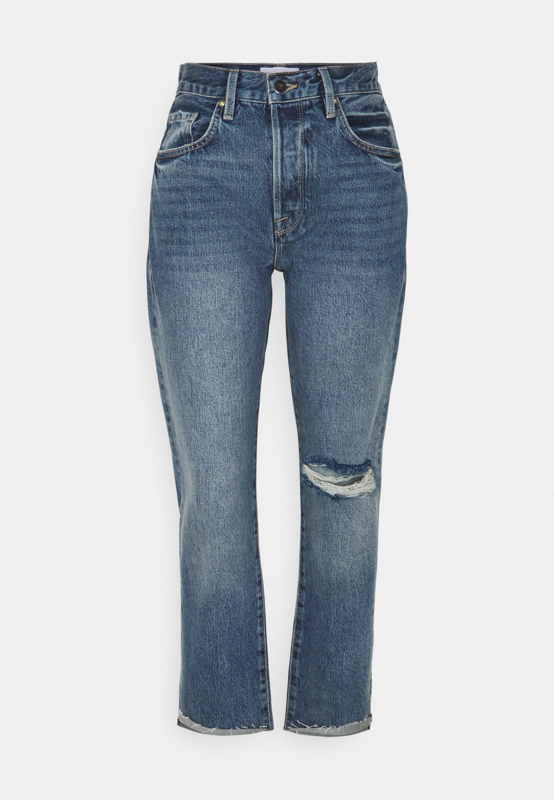 Damer LE ORIGINAL FRONT CUFF - Jeans Slim Fit