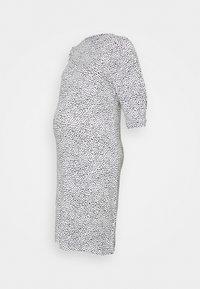 MAMALICIOUS - MLBEATRICE DRESS - Jersey dress - snow white/black - 0