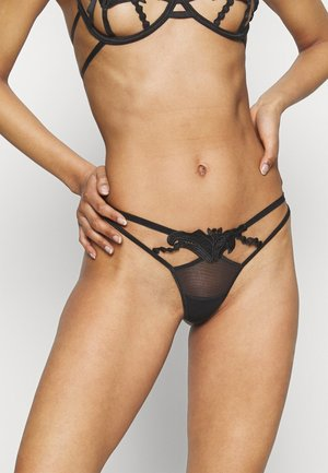 AMINA THONG - String - black