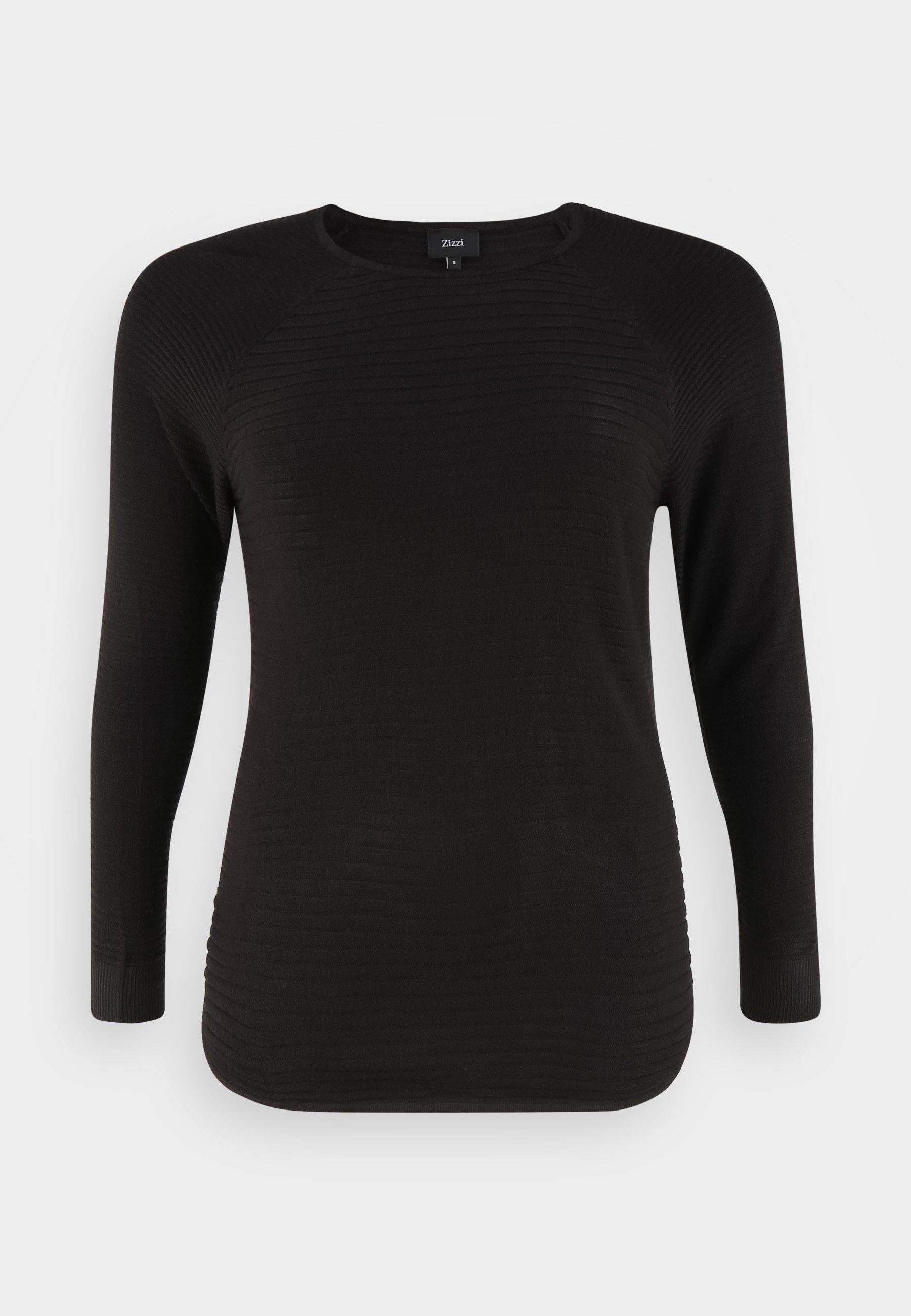 Damen MAMELIA - Strickpullover - black