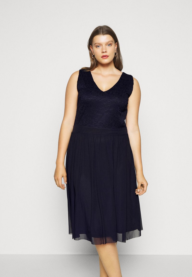 Anna Field Curvy - Cocktail dress / Party dress - evening blue
